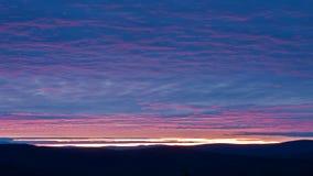 ευγενές ηλιοβασίλεμα Στοκ εικόνα με δικαίωμα ελεύθερης χρήσης