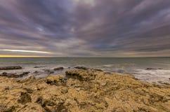 Ευγενές θαλάσσιο τοπίο στοκ εικόνα με δικαίωμα ελεύθερης χρήσης