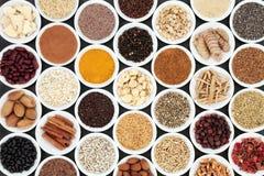 Ευεργετική υγιεινή διατροφή καρδιών στοκ εικόνα