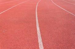 Ευθεία τρέχοντας διαδρομή Στοκ Εικόνα