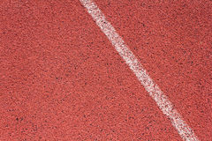 Ευθεία τρέχοντας διαδρομή Στοκ Εικόνες