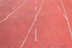 Ευθεία τρέχοντας διαδρομή Στοκ Φωτογραφία