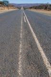 Ευθύς δρόμος σε ολόκληρη τη Νότια Αφρική Στοκ Φωτογραφίες