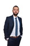 λευκές νεολαίες επιχειρηματιών ανασκόπησης Στοκ φωτογραφίες με δικαίωμα ελεύθερης χρήσης