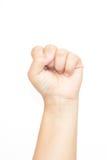 λευκή γυναίκα χεριών ανασκόπησης Στοκ Φωτογραφία
