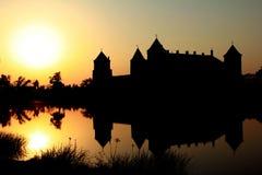 λευκορωσικό κάστρο σύνθετη Ευρώπη mir Στοκ Εικόνες