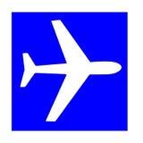 λευκό αεροπλάνων στοκ φωτογραφία