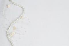 λευκό δαντελλών ανασκόπ&eta Στοκ εικόνες με δικαίωμα ελεύθερης χρήσης