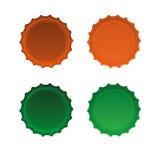 λευκό απεικόνισης σχεδίου ΚΑΠ μπουκαλιών ανασκόπησης Στοκ εικόνα με δικαίωμα ελεύθερης χρήσης