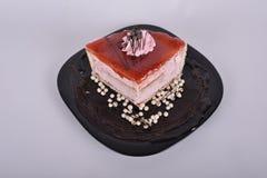 λευκό απομόνωσης καρπού κέικ στοκ εικόνες με δικαίωμα ελεύθερης χρήσης