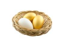 λευκό αυγών ανασκόπησης Στοκ Φωτογραφίες