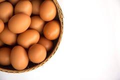 λευκό αυγών καλαθιών ανα Στοκ φωτογραφίες με δικαίωμα ελεύθερης χρήσης