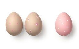 λευκό αυγών Πάσχας Στοκ φωτογραφίες με δικαίωμα ελεύθερης χρήσης