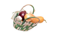 λευκό λαχανικών ανασκόπη&si Στοκ Φωτογραφία