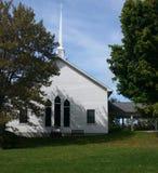 λευκό εκκλησιών Στοκ εικόνα με δικαίωμα ελεύθερης χρήσης