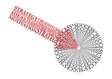 λευκό επιχειρησιακής απομονωμένο έννοια επιτυχίας Στοκ εικόνα με δικαίωμα ελεύθερης χρήσης