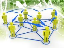 λευκό επιχειρησιακών δικτύων ανασκόπησης στοκ εικόνες με δικαίωμα ελεύθερης χρήσης