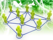 λευκό επιχειρησιακών δικτύων ανασκόπησης στοκ φωτογραφία με δικαίωμα ελεύθερης χρήσης