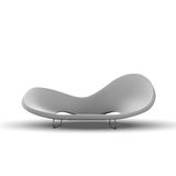 λευκό καναπέδων Στοκ εικόνα με δικαίωμα ελεύθερης χρήσης