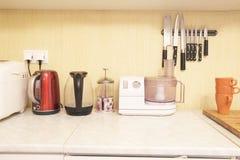 λευκό κουζινών απεικόνισης ανασκόπησης συσκευών Στοκ εικόνες με δικαίωμα ελεύθερης χρήσης