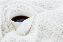 λευκό κουπών καφέ Στοκ εικόνα με δικαίωμα ελεύθερης χρήσης