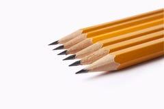 λευκό μολυβιών ανασκόπησης Στοκ φωτογραφία με δικαίωμα ελεύθερης χρήσης