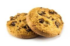 λευκό μπισκότων σοκολάτας τσιπ ανασκόπησης Στοκ φωτογραφία με δικαίωμα ελεύθερης χρήσης