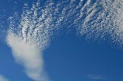 λευκό ουρανού σύννεφων Στοκ Φωτογραφίες