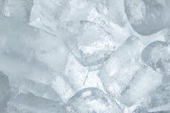 λευκό πάγου κύβων ανασκόπησης Στοκ εικόνες με δικαίωμα ελεύθερης χρήσης