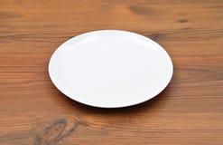 λευκό πιάτων Στοκ εικόνες με δικαίωμα ελεύθερης χρήσης