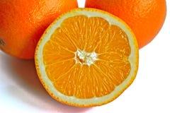 λευκό πορτοκαλιών ανασ&kap Στοκ φωτογραφίες με δικαίωμα ελεύθερης χρήσης