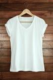 λευκό πουκάμισων τ Στοκ Εικόνα