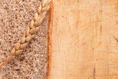λευκό σίκαλης απομόνωσης ψωμιού Στοκ εικόνες με δικαίωμα ελεύθερης χρήσης