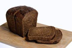 λευκό σίκαλης απομόνωσης ψωμιού Στοκ Φωτογραφία