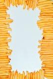λευκό σειράς παλιοπραγμάτων εικόνας τηγανιτών πατατών τροφίμων ανασκόπησης στοκ εικόνα με δικαίωμα ελεύθερης χρήσης