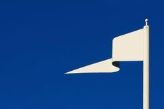 λευκό σημαιών Στοκ εικόνες με δικαίωμα ελεύθερης χρήσης
