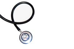 λευκό στηθοσκοπίων οργάνων γιατρών ανασκόπησης Στοκ φωτογραφία με δικαίωμα ελεύθερης χρήσης