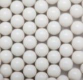 λευκό σφαιρών ανασκόπησης Στοκ φωτογραφίες με δικαίωμα ελεύθερης χρήσης