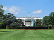 λευκό της Ουάσιγκτον συνεχών σπιτιών στοκ φωτογραφία με δικαίωμα ελεύθερης χρήσης