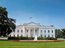 λευκό της Ουάσιγκτον συνεχών σπιτιών στοκ εικόνα
