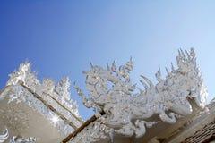 λευκό της Ταϊλάνδης ναών Στοκ Φωτογραφίες