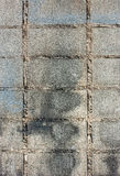 λευκό τοίχων προτύπων τούβλου Στοκ εικόνα με δικαίωμα ελεύθερης χρήσης