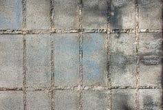 λευκό τοίχων προτύπων τούβλου Στοκ εικόνες με δικαίωμα ελεύθερης χρήσης