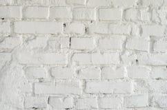 λευκό τοίχων σύστασης τούβλου Στοκ φωτογραφίες με δικαίωμα ελεύθερης χρήσης