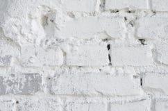 λευκό τοίχων σύστασης τούβλου Στοκ Εικόνες