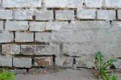 λευκό τοίχων σύστασης τούβλου Στοκ εικόνα με δικαίωμα ελεύθερης χρήσης