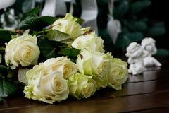λευκό τριαντάφυλλων Στοκ Φωτογραφία
