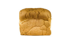 λευκό φραντζολών ψωμιού Στοκ Εικόνα