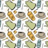 λευκό φλυτζανιών καφέ Στοκ εικόνα με δικαίωμα ελεύθερης χρήσης