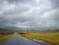 Ευμετάβλητη ορεινή περιοχή Glen Στοκ φωτογραφία με δικαίωμα ελεύθερης χρήσης